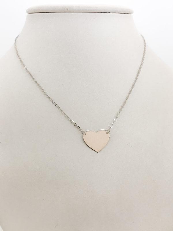 Collana cuore Centrale in oro